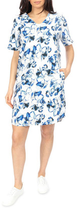 Jump Water Color Floral Dress
