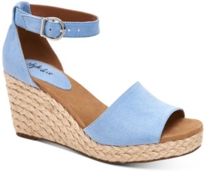 Style&Co. Style & Co Seleeney Wedge Sandals, Created for Macy's Women's Shoes