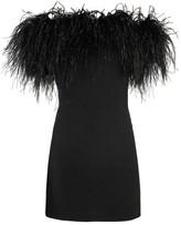 Ostrich Feather Dress Shopstyle