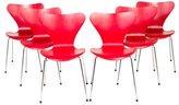 Fritz Hansen Series 7 Side Chairs
