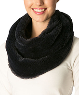Pure Style Girlfriends Navy Faux Fur Infinity Scarf