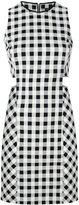 Rag & Bone gingham cut-out mini dress - women - Cotton/Polyamide/Spandex/Elastane - 0