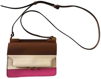 Marni Trunk Brown Leather Handbags