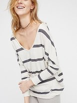 We The Free Upstate Stripe Tee by at Free People