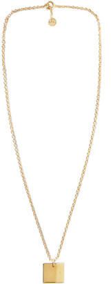 A.P.C. Logo-Engraved Gold-Tone Necklace