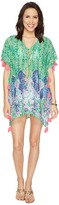 Lilly Pulitzer Castilla Swim Cover-Up Tunic Women's Blouse