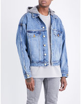 Fear Of God Fifth Collection Hooded Denim Jacket