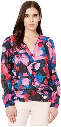 Parker Claudia Blouse (Peony Dreams) Women's Blouse