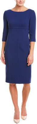 Michael Kors Wool-Blend Sheath Dress