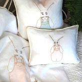 Pom Pom at Home Crib Bedding Bunny Crib Decorative Sham
