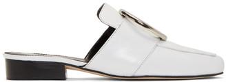 Dorateymur White Petrol Slip-On Loafers