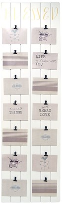 """New View Gifts & Accessories Blessed"""" 14-Opening Clip Collage Frame"""