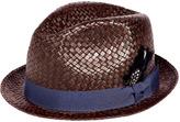 Paul Smith Chocolate Straw Hat