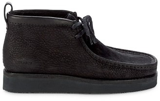 Clarks Pony Hair & Leather Wallabee Boots