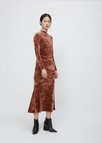 Rachel Comey apricot surveillance dress