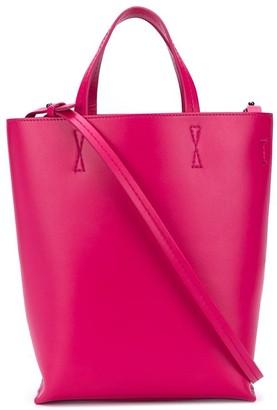 Off-White Logo-Strap Tote Bag
