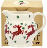 Emma Bridgewater Reindeer Tiny Jug Christmas Tree Decoration, Multi