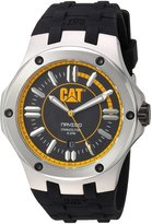 Caterpillar A1.141.21.127 Navigo Date Analog Dial Men's Watch - CAT A114121127 Water Resistant 330 Feet