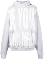Haider Ackermann printed hoodie - women - Cotton - S