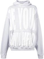 Haider Ackermann printed hoodie
