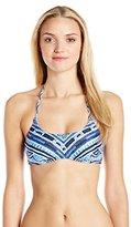 Nanette Lepore Women's Santorini Scallop Stargazer Bikini Top