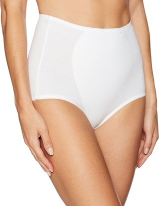Warner's Warners Women's Boxed Full Control Brief-Cotton-Blend