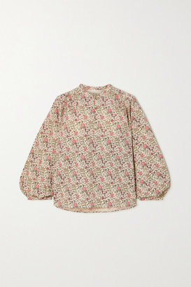 Vanessa Bruno Nolan Floral-print Cotton Shirt - Cream