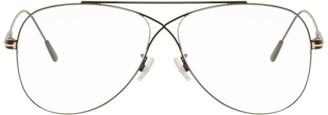 Tom Ford Black Criss-Cross Aviator Glasses
