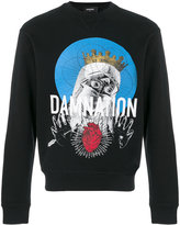 DSQUARED2 Damnation printed sweatshirt - men - Cotton - S