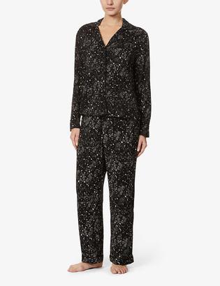 Rails Clara star-print woven pyjama set