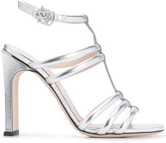 Pollini High Heel Strappy Sandals