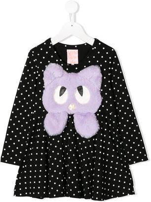 WAUW CAPOW by BANGBANG Swing polka dot dress