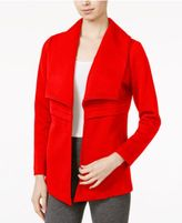 Kensie Quilted Jersey Jacket