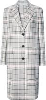 Calvin Klein classic single-breasted coat