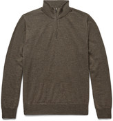Canali - Merino Wool Zip-through Sweater