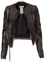 Maison Margiela chain trim quilted jacket