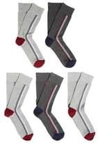 F&F 5 Pair Pack of Fresh Feel Socks, Men's