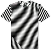 Freemans Sporting Club Striped Cotton and Modal-Blend Jersey T-Shirt
