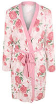 George Floral Jersey Dressing Gown