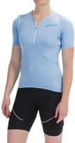 Castelli Bellissima Cycling Jersey - Zip Neck, Short Sleeve (For Women)