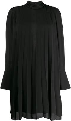 Dondup pleated mini dress