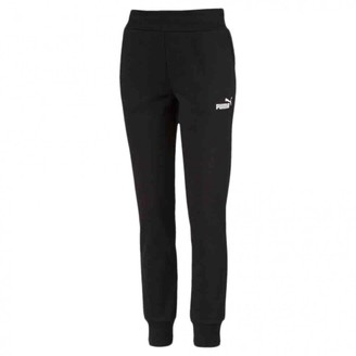 Puma Black Cotton Trousers for Women