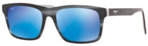 Maui Jim Men's Waipio Valley Polarized Sunglasses