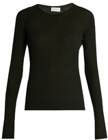 Lemaire Ribbed-knit wool sweater