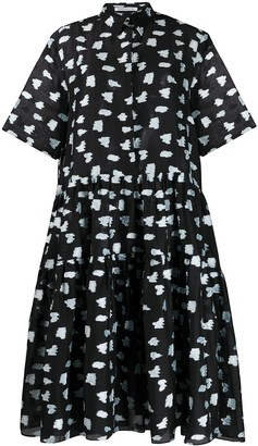 Cecilie Bahnsen Primrose super flared shirt dress