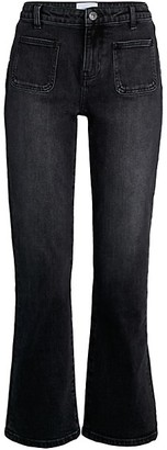 Current/Elliott The Cropped Boot Jean