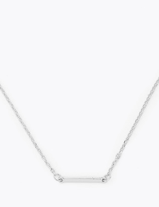 Marks and Spencer Solid Bar Necklace
