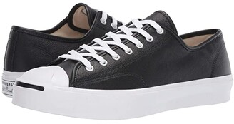 Converse Jack Purcell Gold Standard Leather (Black/White/White) Shoes