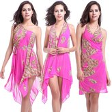 Loveus Women's Swimwear,Multi-way Wearing Beach and Pool Cover Up Dress