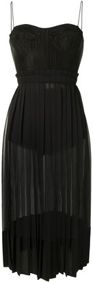 Alexis Inasia corset midi dress